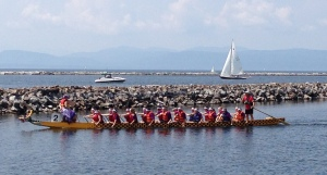 Dragon Boat Races in Burlington, Vermont