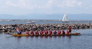 Dragon Boat Races in Burlington, Vermont