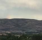 Hint of a rainbow