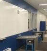 whiteboard hallway